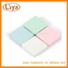 Liya multi color cosmetic make up Sponge puff for face use