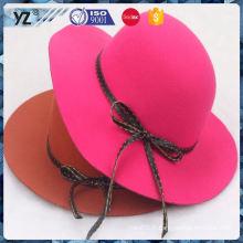 Produit principal toutes sortes de faux suède femme chapeau farbique dans de nombreux styles
