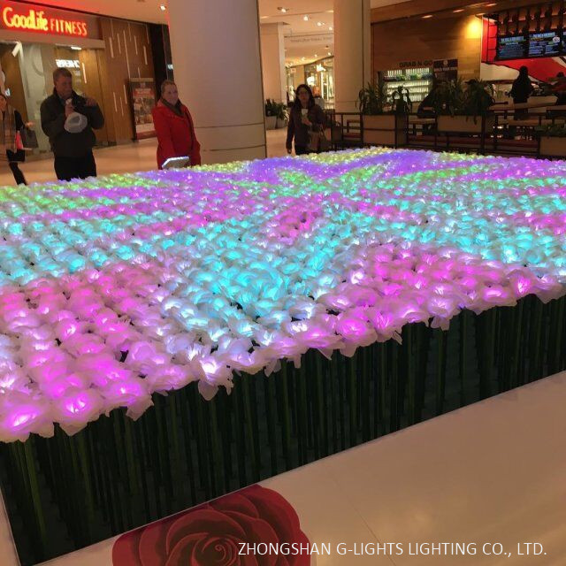 mall LED flower project