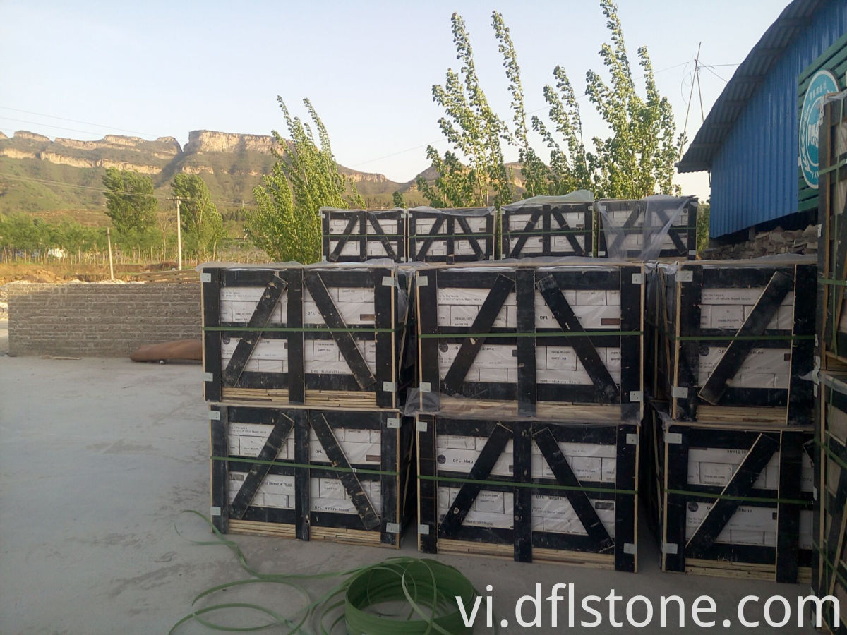 Black Wooden Crates