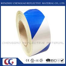 Bleu et blanc indéchirable autocollant réfléchissant pour publicité (C1300-S)