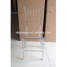 MONOBLOC CHIAVARI CHAIR IN RESIN MATERIAL