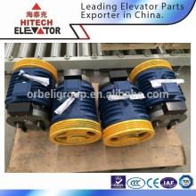 Traktionsmaschine für Fahrgastaufzug / Getriebetyp / für MRL