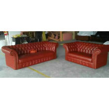 UK Sofa, Leather Sofa, Lobby Sofa (6806)