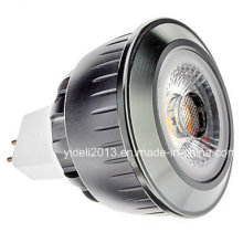 MR16 5W COB 350-400lm 2700-3500k Luz branca quente LED Spot Bulb (12V)
