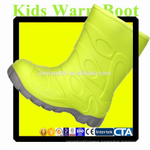 JX-916LG colorful TPR Kids Warm Boots for Kids
