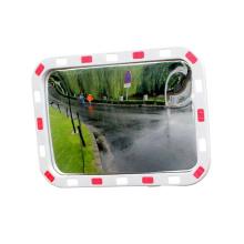 Elliptic Square Reflective Convex Mirror with PC Lens