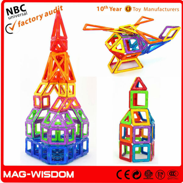 Plastic Building Tube Toy for Kids