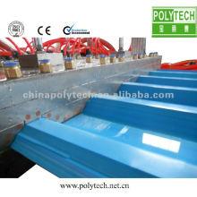 Linha de extrusão de chapas de PVC / PC / PP