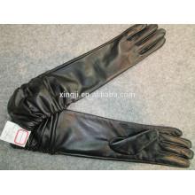 высокое качество мода овец кожаные перчатки для подарка