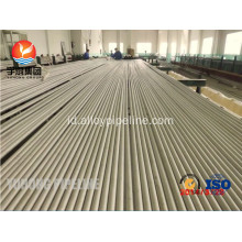 Stainless Steel mulus tabung ASTM A213 TP316Ti UNS S31635 1.4571