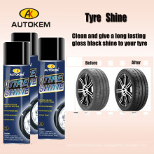 Factory Supply Shine and Polish Tyre Spray Wax