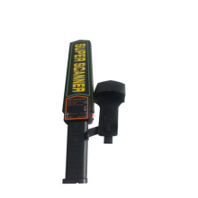 Small metal detector wand