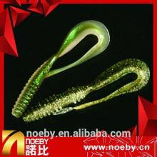 NOEBY 6cm / 11g exceptionnel en plastique doux Twister