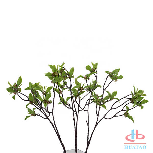 Single-prickly-ash-leaf-artificial-flower-leaves