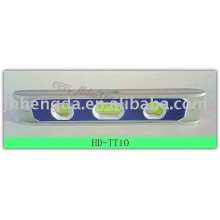 Heavy duty aluminum torpedo level