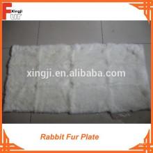 Plaque de fourrure en gros, fourrure de lapin