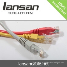 LANSAN Профессиональные высокоскоростные кабельные патч-корды Cat6 utp PVC / LSOH ETL / UL / ROHS / ANATEL