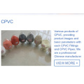 CPVC COMPOUND FOR PIPE&FITTINGS INJECTION