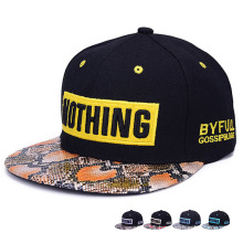 Patch Embroidered Fashion Promotional Cotton Street Dancing Trukfit Cap (YKY3352)