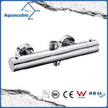 Bathroom Thermostatic Chrome Round Exposed Bar Mixer Shower Valve (AF4320-7)