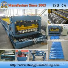 Máquinas onduladas para formação de painéis de telhado