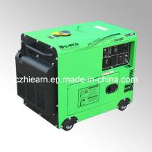 2-генератор 5kw Тихая дизель генератор установить цену (DG3500SE)