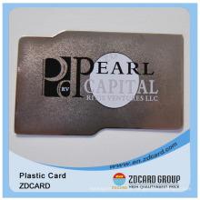 Cartão de metal Cartão de plástico Cartão de PVC