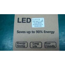 heiße verkäufer deckenleuchten unten leuchtet 9 LEDs 11 watt AR111 12 V AC DC, G53 basis down lichter 800lm