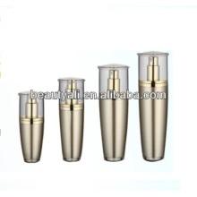 15ml 30ml 50ml 80ml 120ml Bouteille de bouteille acrylique en plastique aux champignons Emballage cosmétique
