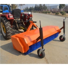 Tractor 3 Point Hitch Nylon Brush Battery Swivel Sweeper