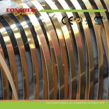 Bandas de borde de alta calidad del PVC para el tablero de la melamina MDF