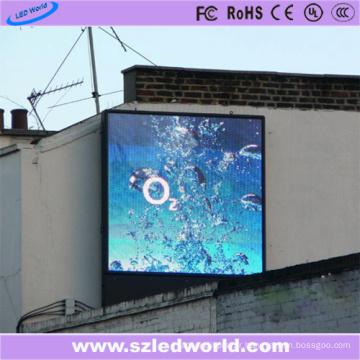 Publicité polychrome extérieure d'usine de panneau d'écran d'affichage à LED de l'éclat P10 de 7500CD / m2