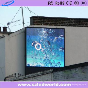 Propaganda exterior da fábrica do painel da tela de exposição do diodo emissor de luz da cor completa do brilho 7500CD / M2 P10