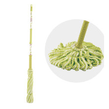 Espanador verde de venda quente da limpeza do assoalho do algodão do agregado familiar do espanador da limpeza