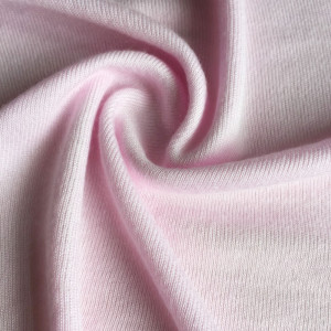 Silk viscose knitted fabric silk rayon blended fabric