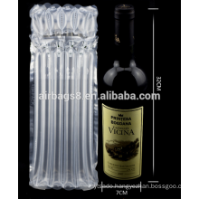 Cheapest Red wine Air Column Bag Cushion Packaging Bag for red wine bottle packing