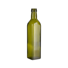 Wholesale Customization Dark Green Cooking Olive Oil Empty Glass Bottle