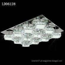 candelabro conduzido remoto da iluminação de cristal do estilo chinês