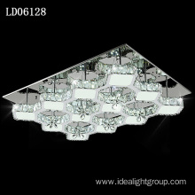 remote led crystal lighting chinese style chandelier