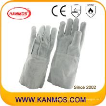 Перчатки для сварки из натуральной кожи для промышленной безопасности (11122)