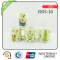 Porzellan-keramische Kaffeetasse-Schale für Förderung-Geschenk (JSDS-10)