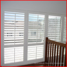 Home decorative 89mm wooden Plantation window Shutter