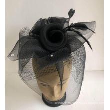 NUEVO-Sombreros de mujer Fascinadores de la Iglesia Horsehair --YJ81