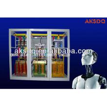 Stabilisateur et régulateur de tension électrique triphasé à régulation séparée