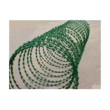 PVC Coated Razor Barbed Wire Factory
