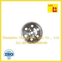 Industrielles ANSI-Förderband Großes Kettenrad-Stirnradgetriebe mit sechs Löchern