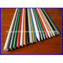УФ-устойчивый твердый стеклопластиковый стержень с отражающей лентой 3 м