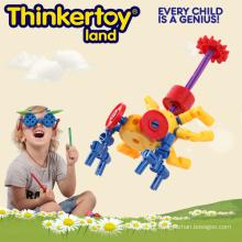 Brinquedos de inteligência de modelo de inseto para crianças brinquedos de conexão de plástico China