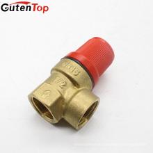 Válvula de segurança de bronze do fogo da boa qualidade da fonte da fábrica de LB Guten para o extintor